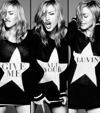 Give me all your luvin, το πρώτο single της Μαντόνα από το MDNA - Mουσική