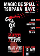 Magic De Spell & ������� Rave ������� ���� ��� ����� ��� Blue Live