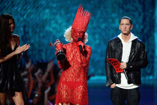 � Eminem �������� ��� Lady Gaga ��� YouTube Music Awards 2013