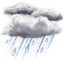 Showers/Wind - ��� 14°C ����� 23°C