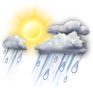 AM Showers/Wind - ��� 8°C ����� 11°C