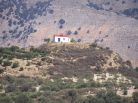 little church on the mounter Moroni Messara Heraklio Crete Moroni Messara Heraklio Crete